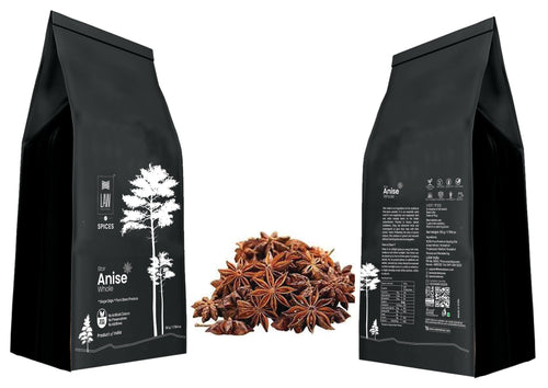 Dried Star Anise Whole | Badhiyan Fool |Chakri Phool – 100% Natural & Non- GMO - weaveskart.com - LAW India (looms & weaves)