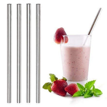 Load image into Gallery viewer, ALINK Extra Wide Metal Reusable Straws