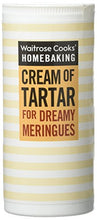 Load image into Gallery viewer, Cooks' Ingredients Cream Of Tartar Waitrose 140g