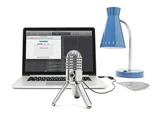 Load image into Gallery viewer, Samson Meteor USB Microphone - Chrome