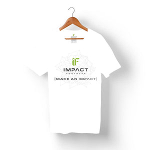 Men's IF Impact Footwear Make an Impact Tee White