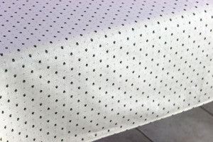 Calissons White Tablecloth