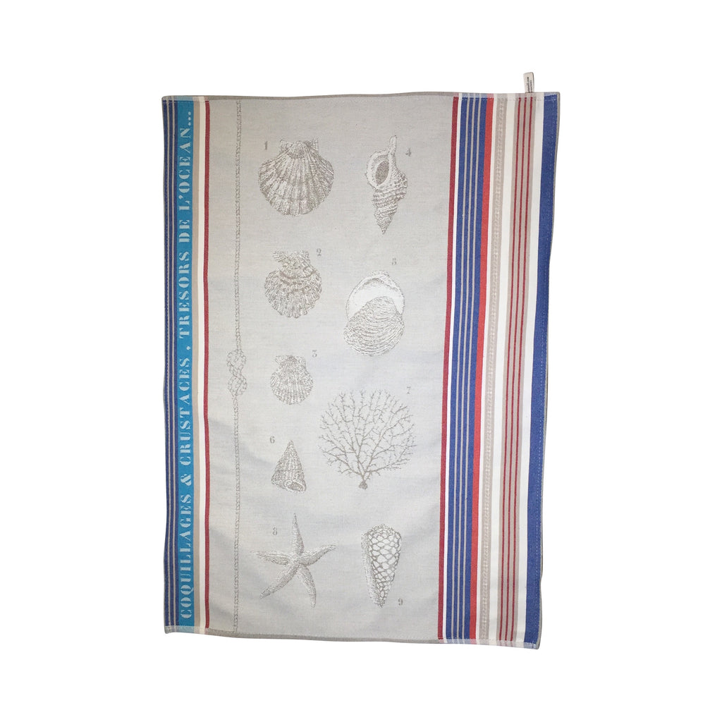 "Deco ""Saint Jacques"" Jacquard Tea Towel"