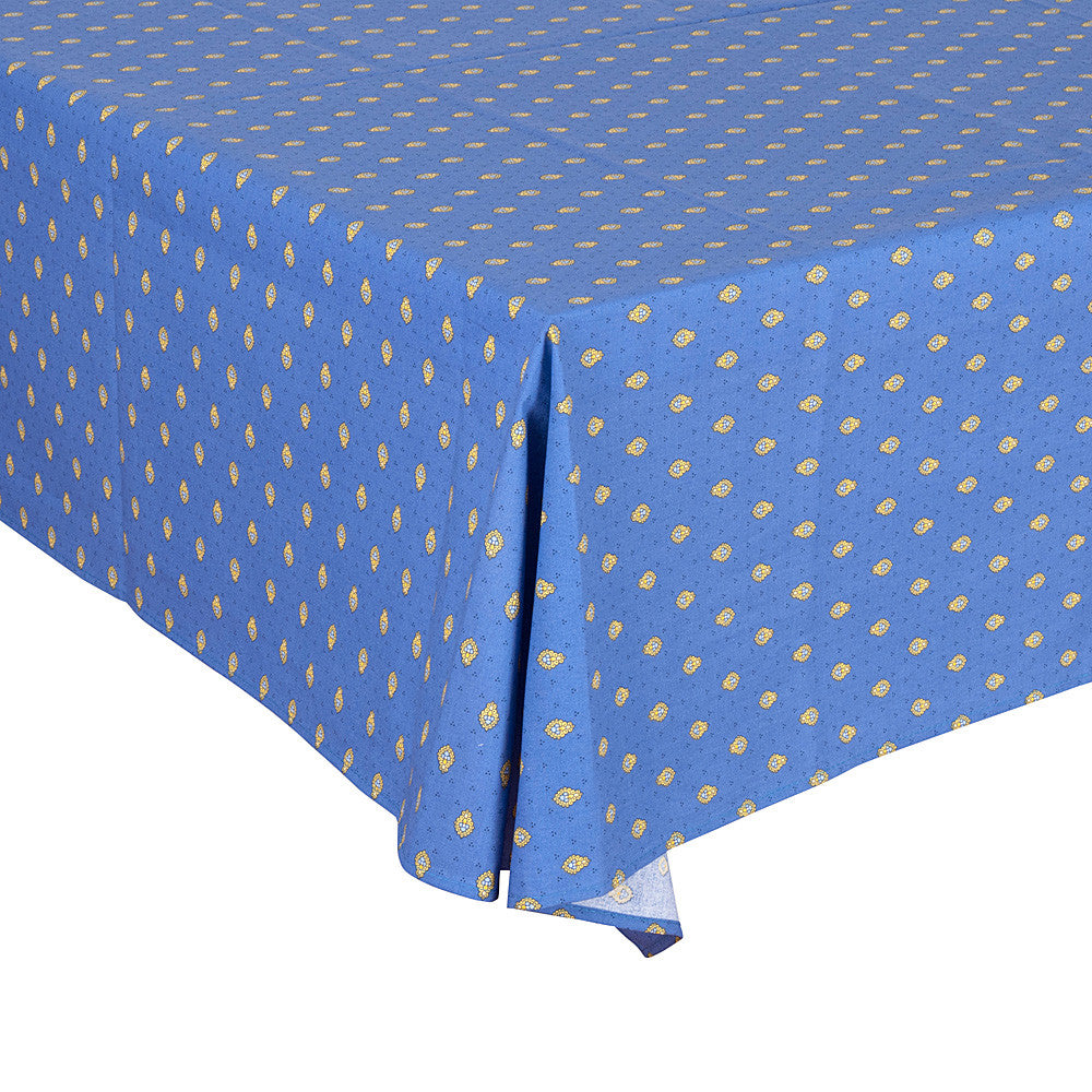"""Bastide Allover"" Square Cotton Tablecloth"