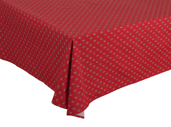"""Avignon Allover"" Rectangle COATED Cotton Tablecloth"