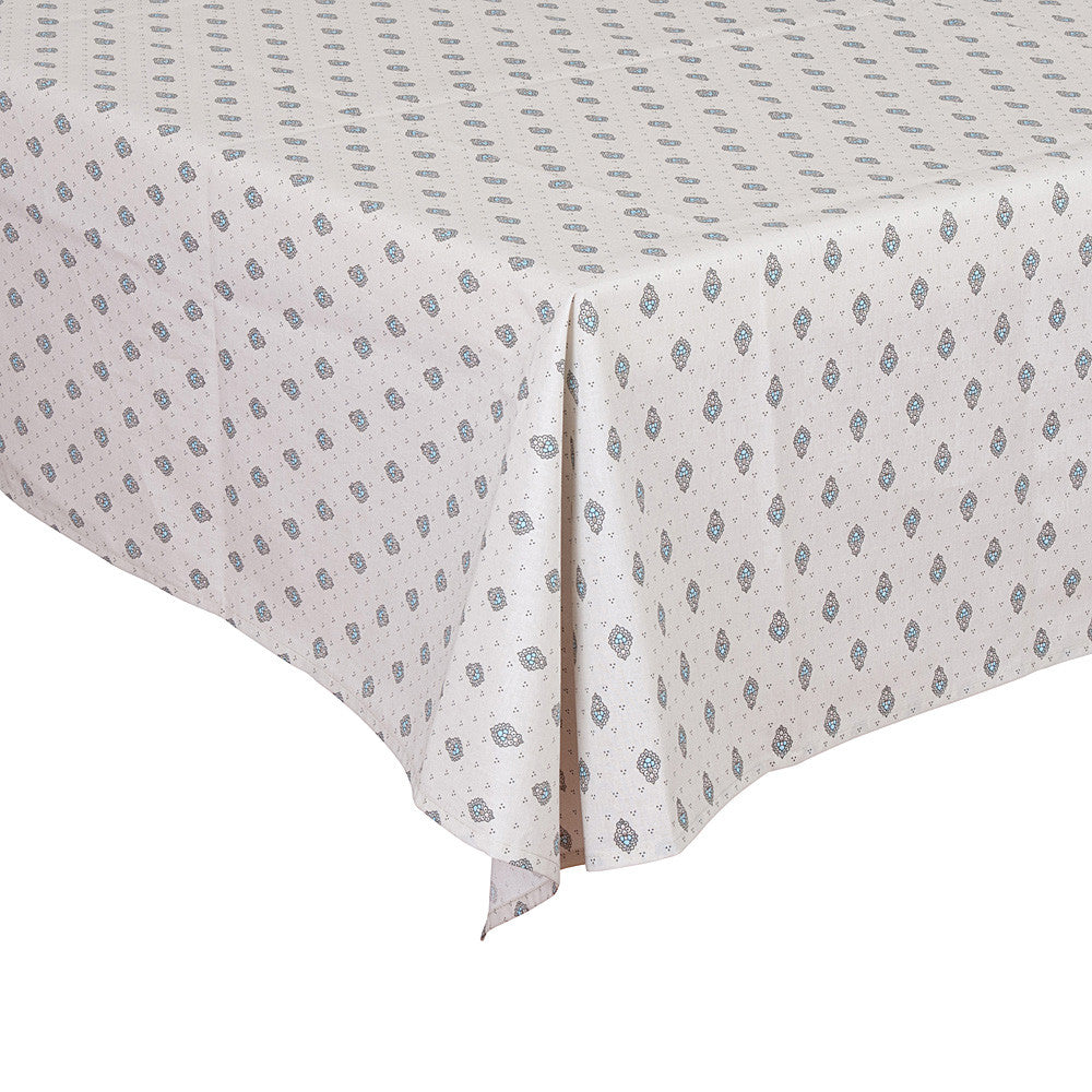 """Bastide Allover"" Rectangle Cotton Tablecloth"