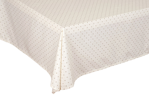 """Calissons"" Rectangle COATED Cotton Tablecloth"