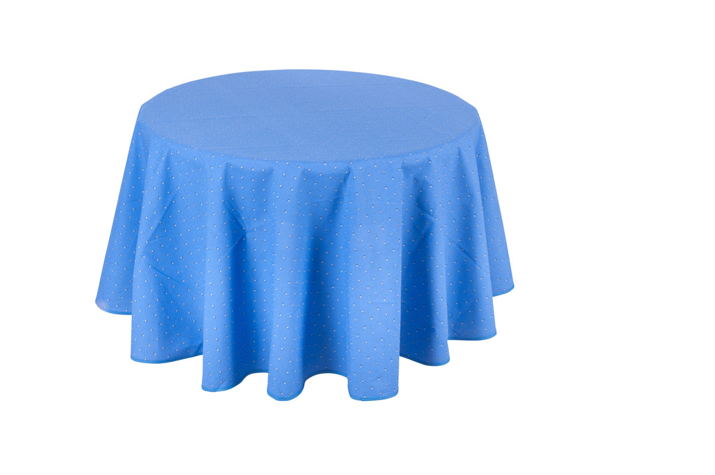"""Calissons"" Round Cotton Tablecloth"