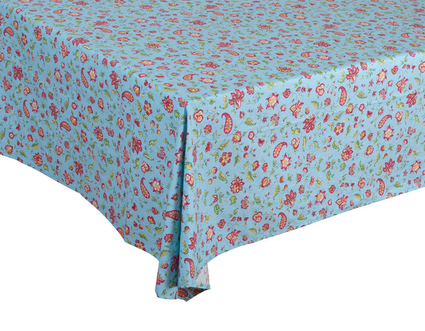 """Vence"" Square Cotton Tablecloth"