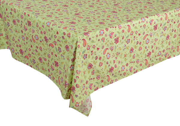"""Vence"" Rectangle Cotton Tablecloth"