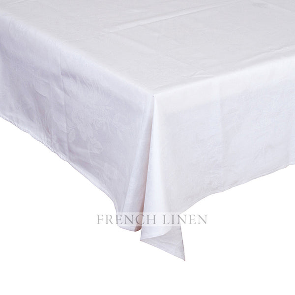 """Chrysanthemum"" Rectangle Damask Tablecloth"