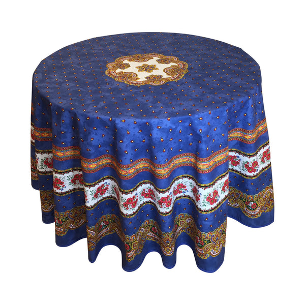 """Tradition"" Round Cotton Tablecloth"