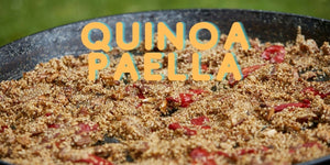 Organic Chicken Quinoa Paella Recipe: Simple and Delicious Recipe for the Whole Family!