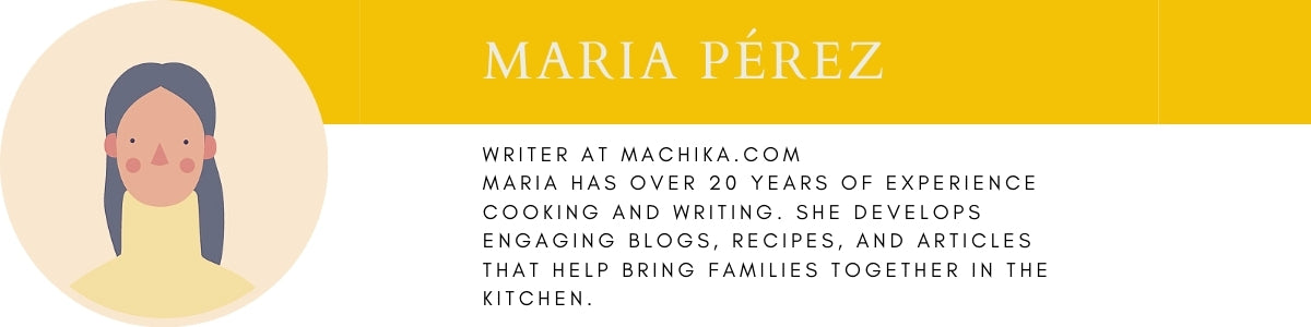 Maria Perez machika blog writer blurb.