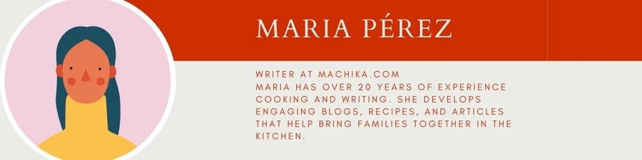 Maria Perez author blurb machika.com machika kitchen