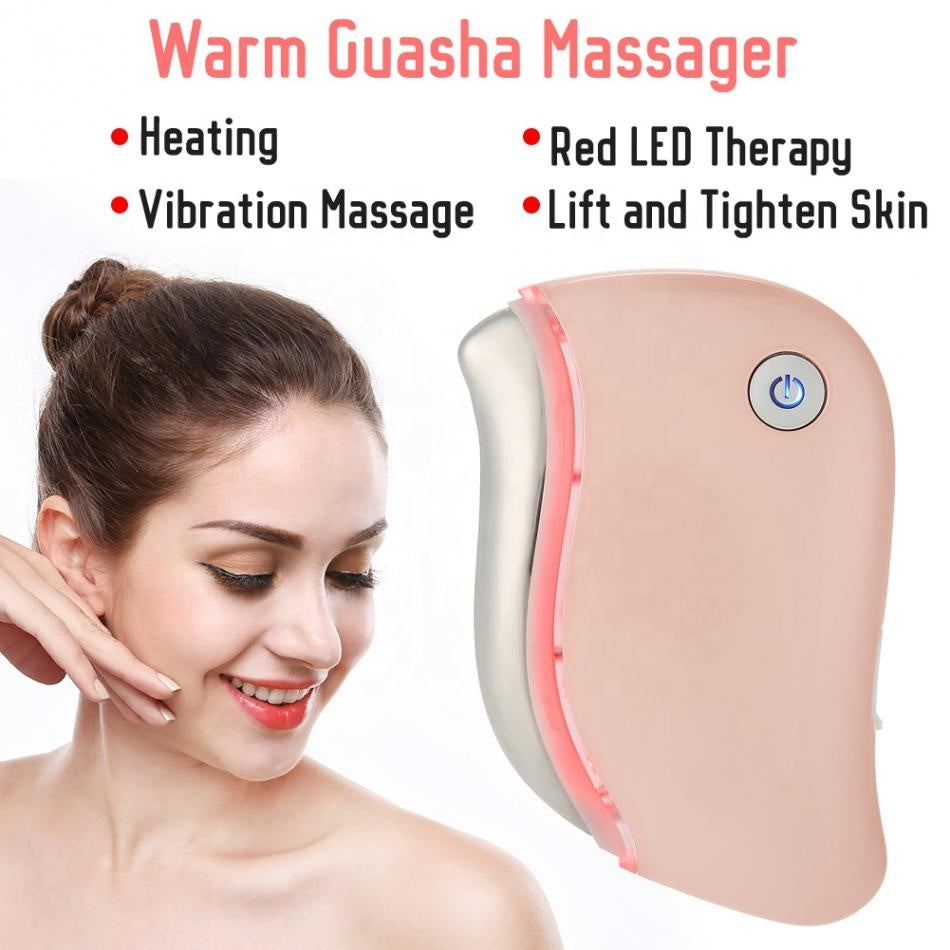BuFace Red LED Therapy Massager