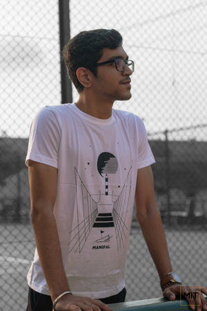 Astronomia | Manipal T-shirt | Manipal Merchandise| The MIT Store| White Tee