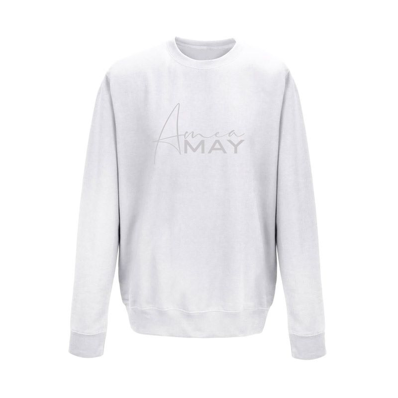 GREY STAPLE SWEATER - UNISEX