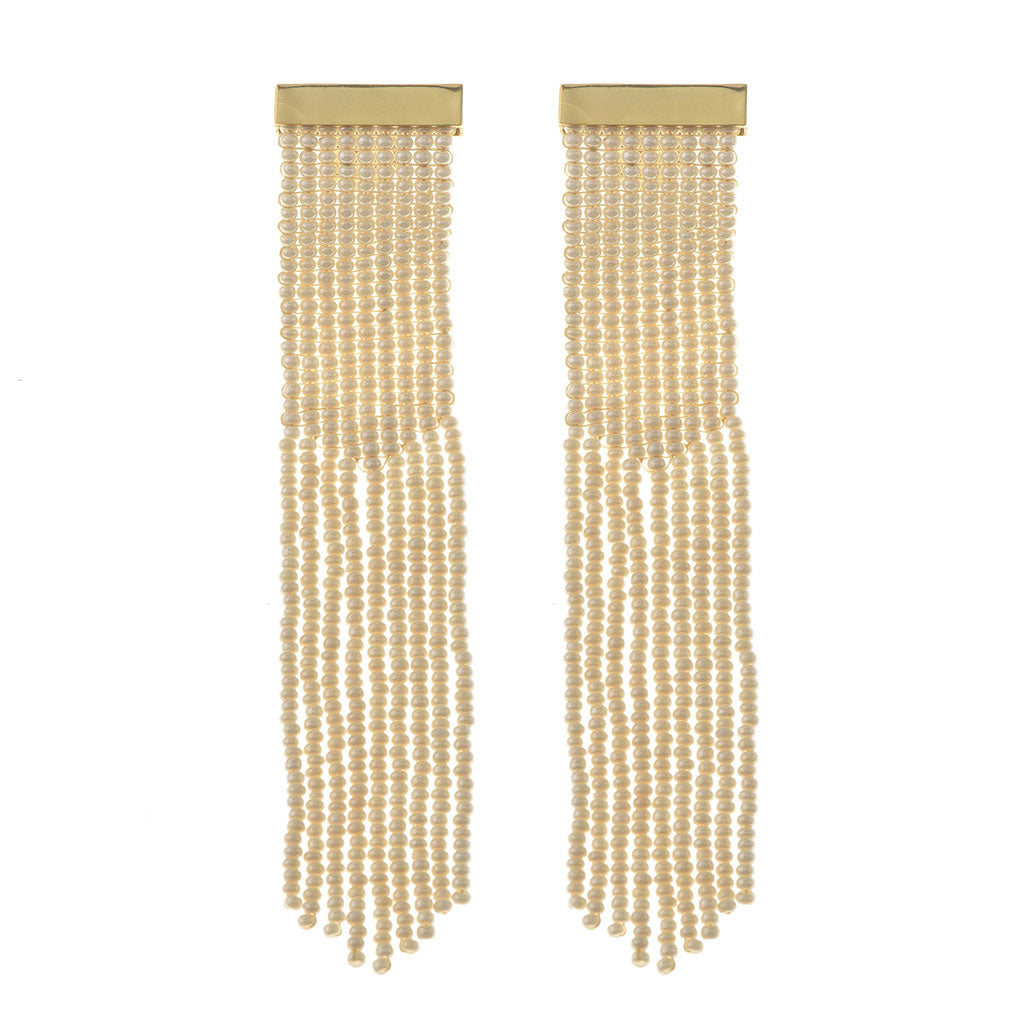 Nubia Earrings Ivory