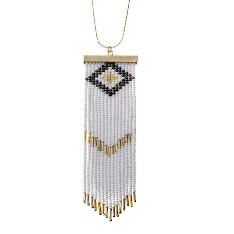Niebla Necklace White