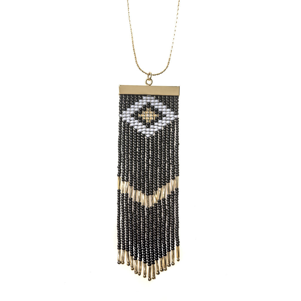 Niebla Necklace Black