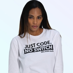 Just Code. No Switch - Long Sleeve