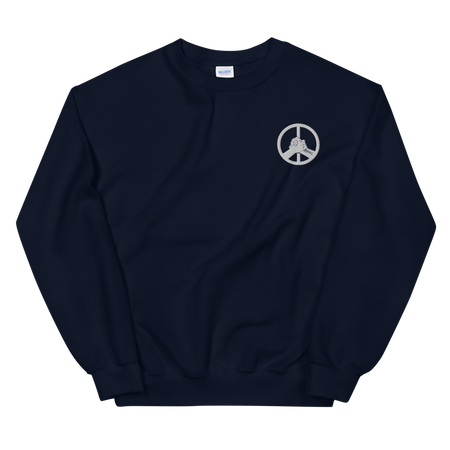 Solid Logo Sweatshirt - Hippie Culture Clothing Co.