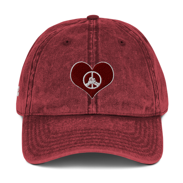 Peace and Love Cap - Hippie Culture Clothing Co.
