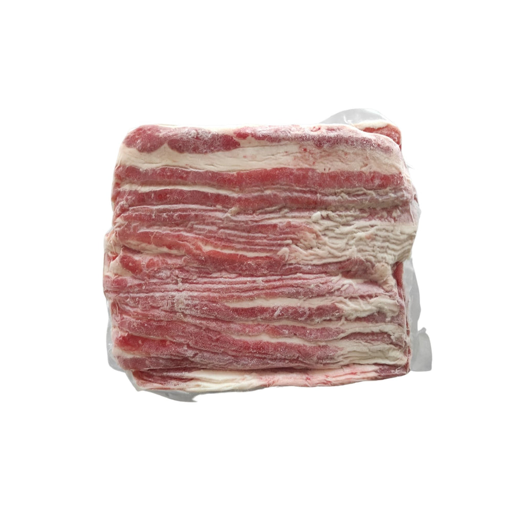 BEEF SHORTPLATE SLICED SHABU SHABU FROZEN USA 1KG