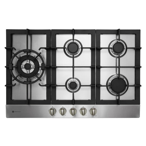 Parmco 770mm Stainless Steel Gas Hob