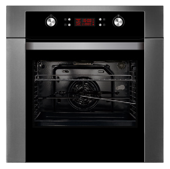 Polo Built-in Pyrolytic Oven 60cm 10 Function 65 Litres - Buyrite Appliances