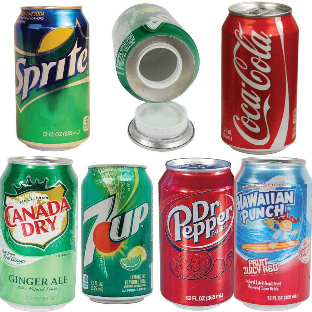 Soda Pop Can Diversion Safe