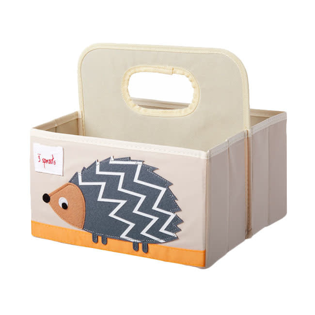 3 sprouts hedgehog diaper caddy