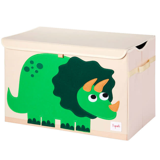 3 sprouts dinosaur toy chest