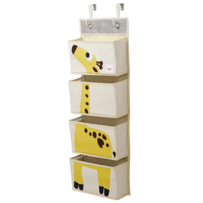 3 sprouts giraffe wall hanging organizer