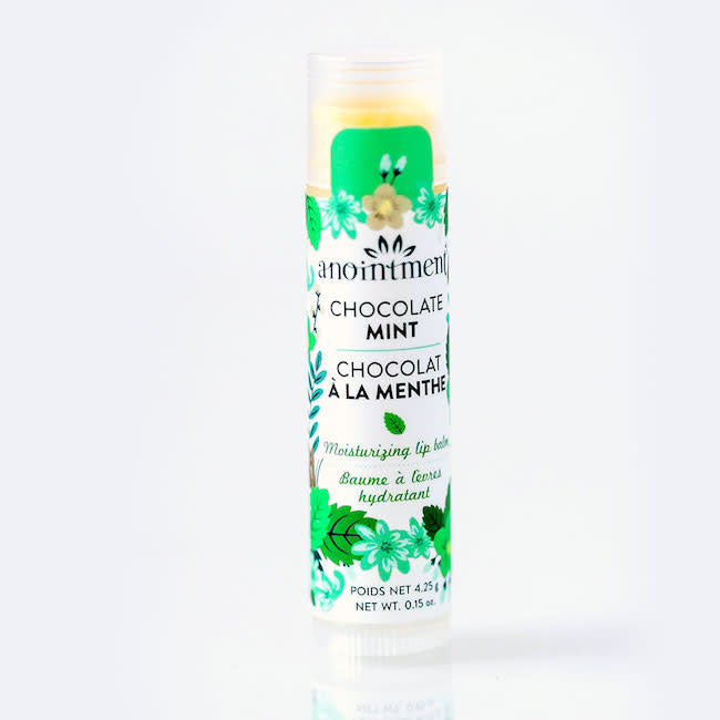 anointment lip balm - chocolate mint