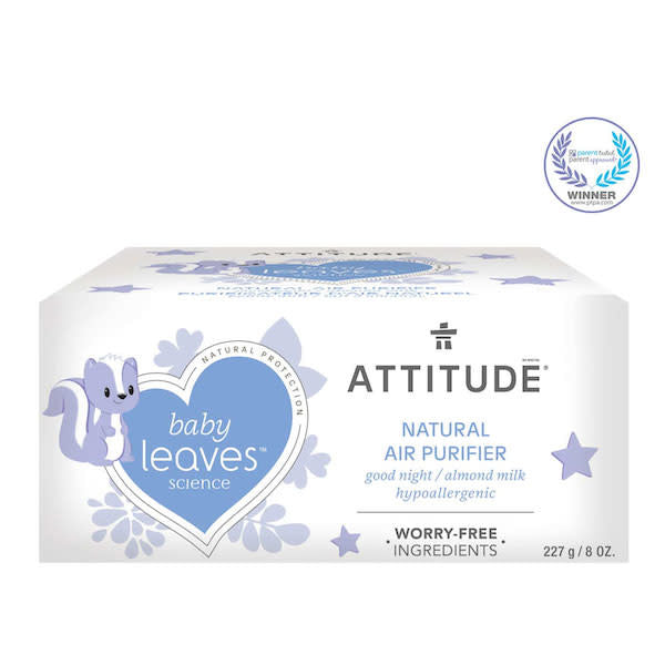 attitude baby leaves air purifier - good night almond milk 227 g