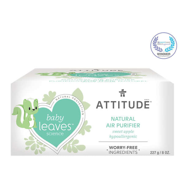 attitude baby leaves air purifier - sweet apple 227 g