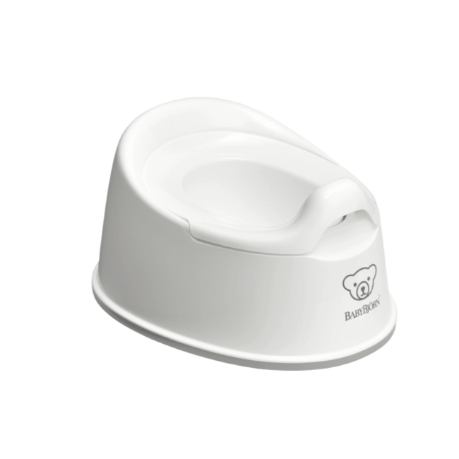 baby bjorn smart potty - white/grey