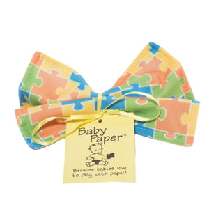 baby paper crinkle toy - puzzle