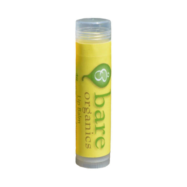 bare organics lip balm - natural honey 4g