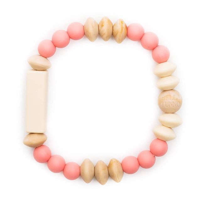 bella tunno silicone teether bracelet for mom - carson tribal