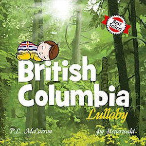 baby lullaby books - british columbia lullaby board book