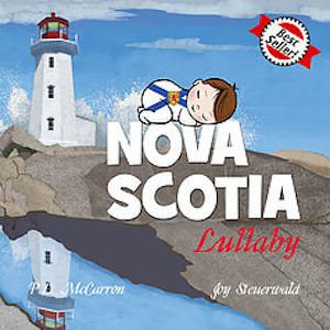 baby lullaby books - nova scotia lullaby board book