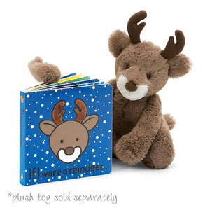 jellycat if i were a reindeer special edition board book 2019