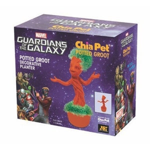 chia pet groot potted