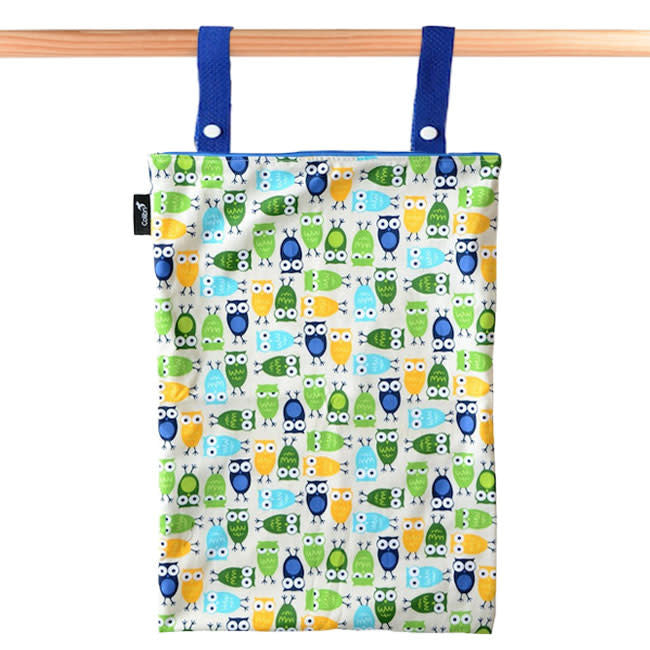 colibri extra large original wet bag - owls