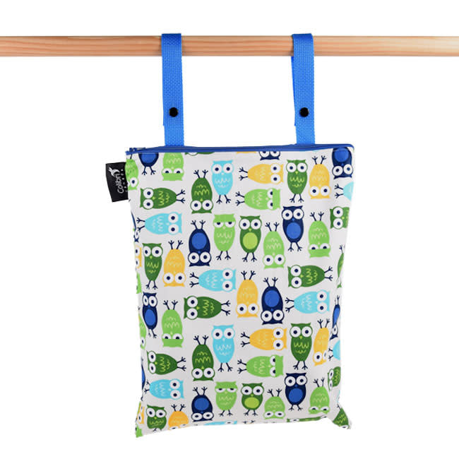 colibri regular wet bag - owls