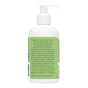 earth mama organics simply non-scents baby lotion 240ml