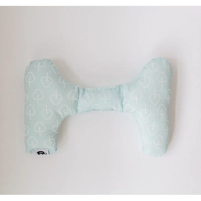 ellie + emmett positional support pillow - blue trees